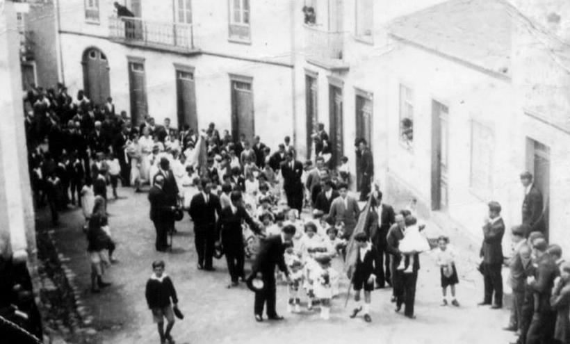 Rua da Trindade em 1939